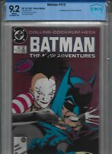 Batman New Adventures #412 -Origin of Mime  - CBCS 9.2 NOT CGC