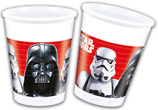 Star Wars Last Battle 8 x Plastikbecher Kindergeburtstag Kinderparty Geburtstag