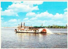 COTTON BLOSSOM STERN WHEELER BOAT NEW ORLEANS, LOUISIANA POSTCARD UNPOSTED