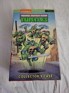 SDCC 2017 Con Exclusive 8-Pack TMNT Ninja Turtles Figures Collector Case NIB