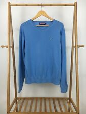 Vineyard Vines Men's Classic V-Neck Knitted Pullover Blue Sweater Size M