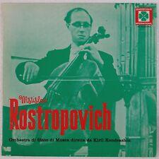 ROSTROPOVICH: CelloQuadrifoglio KONDRASHIN Vinyl LP NM Rare IMPORT Beautiful!