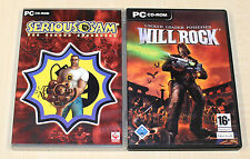 2 PC GIOCHI-Serious Sam The Second Encounter & Will Rock-Classic EGO Shooter