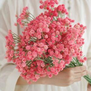 1pc Gypsophila Flower Bouquet Plastic Artificial Flowers Home Decorative Wedding