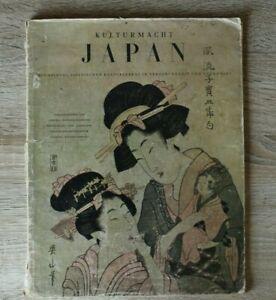 Zeitschrift Kulturmacht Japan 1930-45 Kunst Kultur Ken-Jutsu Ringen Sport Theate