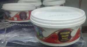 acciughe alici salate Italia Sicilia SCIACCA sotto sale salamoia Artigianale new