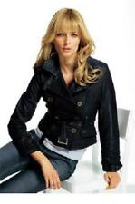 Tolle Lederjacke im Biker-Style Laura Scott schwarz Gr.34 NEU !