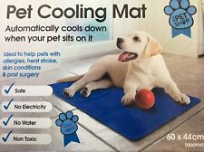 Mega_Jumble Self Cooling Gel Pet Dog Cat Cool Mat Pad Bed Mattress Heat Relief