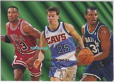 1994-95 FLEER TEAM LEADERS: SCOTTIE PIPPEN/MARK PRICE/JAMAL MASHBURN #2 INSERT