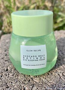 GLOW RECIPE Avocado Melt Retinol Eye Sleeping Mask-15ml/0.5 fl oz-NWOB