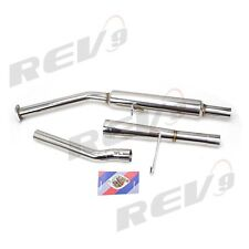 REV9 CATBACK EXHAUST SYSTEM 2.35 INCH STAINLESS STEEL 84-87 TOYOTA COROLLA AE86