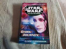 Star Wars New Jedi Order Dark Journey Elaine Cunningham P/Back 2002