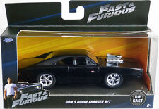 Jada 1:32 FAST & FURIOUS F8 Dom's Dodge Charger R/T Diecast Model Racing Car NEW