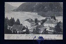 alte AK Foto Gruss aus Weisshaus in Tirol 1903