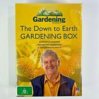 ABC Gardening Australia The Down To Earth Gardening Box DVD NEW