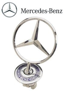 For Mercedes W140 300SE 400SE 500SEL S-Class Hood Star Emblem Genuine 1408800286