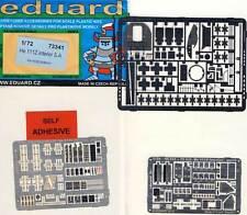 eduard Heinkel He-111Z interior etching part 1:72 for model kit Twin Seat belts