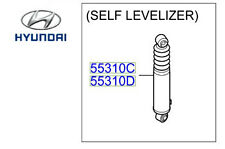 Genuine Hyundai Santa Fe Self Levelling Shock Absorbers Rear Right - 553212B510