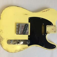 Tele guitar body - Telecaster relic . NGS Guitars Bluesman Roadworn