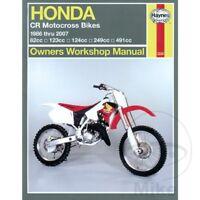 Honda CR 125 R 1998 Haynes Service Repair Manual 2222