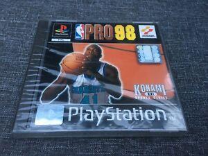 NBA Pro 98 (Sony PlayStation 1, 1998) Neu