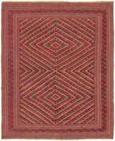 "Hand-knotted Carpet 5'1"" x 6'3"" Traditional Vintage Wool Rug"