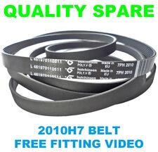 Cintura asciugatrice 2010H7 per WHIRLPOOL PURE trkd français come Serie + GRATIS Fit Video