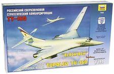 Tupolev TU-160 Russian Strategic Bomber 1/144 Airplane Model Kit - Zvezda 7002