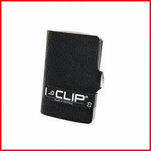 I-CLIP Original Silver Pure Black, Credit Card Holder, Wallet, Money Clip