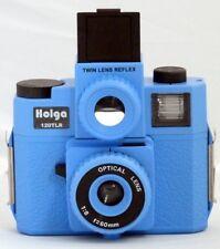 HOLGA 120TLR / 120 TLR Twin Lens Reflex Medium Format Film Blue Lomo Brand new