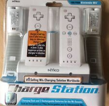 Nyko Charge Station Charging Dock & 2 Rechargable Wii Batteries NEW SEALED