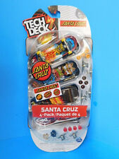 Tech Deck Santa Cruz Fingerboards 4 Pack  New!