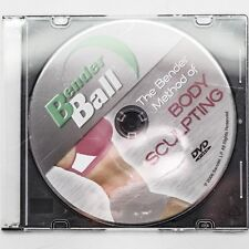Bender Ball The Bender Method of Body Sculpting Fitness Exercise Dvd Video