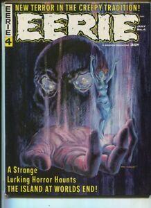 "EERIE #4 VF/NM ""The Island At World's End"" Warren Magazine  SA"
