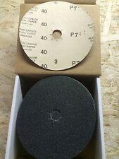 "7"" X 7/8"" Floor Sanding Edger Discs Silicon Carbide (500 Discs) Any Grits"