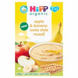 HiPP Organic Apple & Banana Swiss Style Muesli Baby Cereal 7+ Months