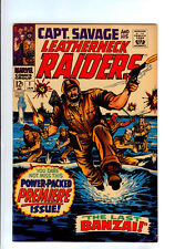Capt. Savage and His Leatherneck Raiders #1 (Jan 1968, Marvel)  HIGH GRADE