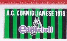 A.C. CORNIGLIANESE 80s Edilfriuli italy - promo sticker - adesiva calcio footbal