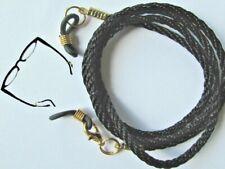 "Black Coloured Eye / sun Glasses / Spectacles  lanyard 24"" (61cm)   Cord"
