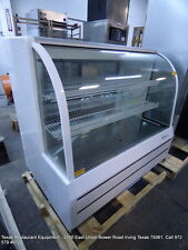 """Turbo Air Tcgb-48-Dr-S 48"""" Dry Curved Glass Bakery Display Show Case"""