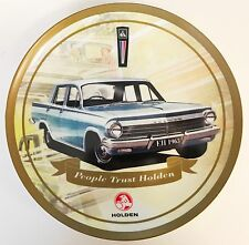 120764 HOLDEN EH 1963 CERAMIC COLLECTOR PLATE WITH STAND 26.5cm DIAMETER GIFT