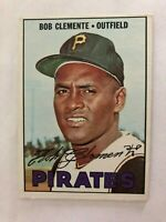 1967 Topps #400 Roberto Clemente Pittsburgh Pirates Baseball Card High Grade