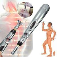 Electronic Acupuncture Pen Meridian Body Massager Energy Relief Pain Pen Ne J5K8
