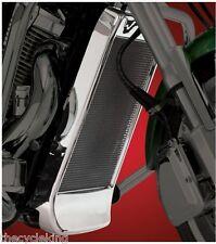 ALL Honda VTX1800 C/F/N/R/S/T Retro Neo - Chrome Mesh Radiator Grille w/Spoiler