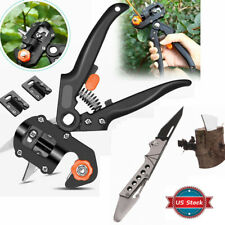 Nursery Grafting Pruning Pruner Shears Knife Cutter Seedling Garden Tool Kit