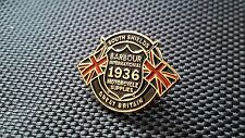 A Quality enamel Barbour international south Shield  pin badge