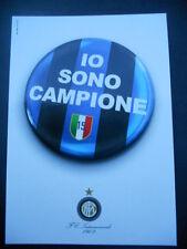 CARTOLINA PROMOCARD N. 7174 - INTER - IO SONO CAMPIONE - CAMPIONI D'ITALIA 2007