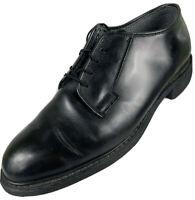 $150 Bates Men's Size 10D Black Oxford Uniform Police/Military Dress Shoe EUC