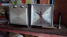 Radio orologio portapenne anni 50 da scrivania tavolo