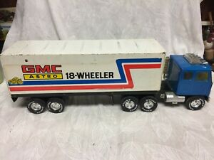 Vintage 1970s Nylint GMC Astro The Rig 18 Wheeler Toy Semi